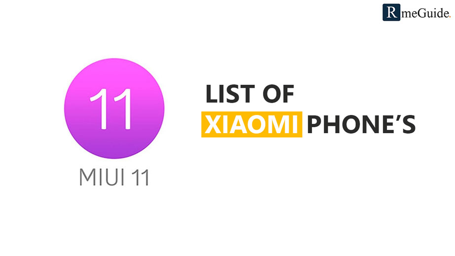 Xiaomi Devices Getting MIUI 11 Update
